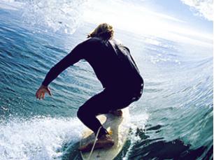 """A surf village """"evoca o clima e ambiente surfista"""" Foto: DR"""