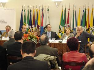 No ciclo de conferências sobre o Tratado de Lisboa segue