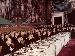 CEE nasceu há 50 anos com o Tratado de Roma Foto: UE