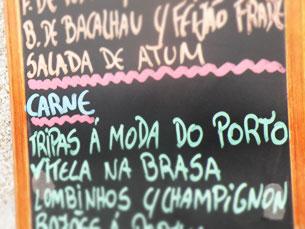 As Tripas À Moda do Porto são um prato adequado à crise portuguesa, entende Luís Filipe Menezes Foto: Amanda Ribeiro