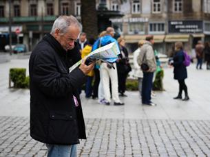 A maior parte dos turistas que visitam o Porto têm entre 26 e 40 anos. Foto: Inês Graça