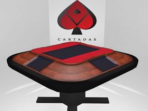 A Mesa Digital não vai substituir as cartas tradicionais mas atualizar o jogo tradicional Foto: DR
