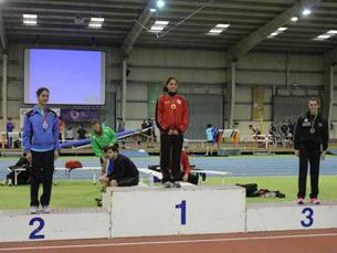O Campeonato Nacional Universitário de Atletismo entregou o ouro à Universidade do Porto Foto: GADUP
