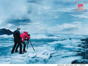 "A fotografia representa a ""realidade económica violenta e desrespeitosa que vivem os fotógrafos"" Foto: DR"