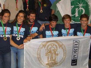 A UP garantiu uma medalha de bronze e um quarto lugar em Vela Foto: GADUP