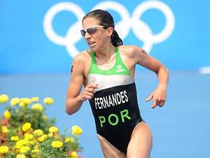 A medalha de prata de Vanessa Fernandes foi um dos pontos altos da prestação nacional Foto: Delly Carr / ITU Media