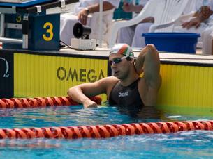 Tiago Venâncio prepara em Madrid os Jogos Olímpicos de 2012 em Londres Foto: Federação Portuguesa de Natação