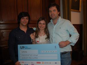 Vencedores do iUP25K arrecadaram 15 mil euros Foto: Catarina Campos