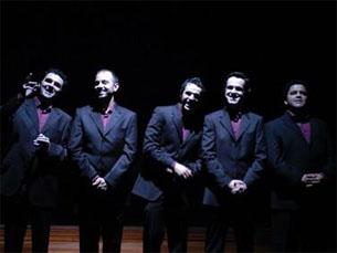 Quinteto actual é composto por Jorge Prendas, António Miguel, Tiago Oliveira, João Ricardo Fráguas e Rui Vilhena Foto: DR