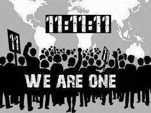 Occupy The Streets. Occupy The World é o nome do movimento internacional que circula nas redes sociais Foto: DR