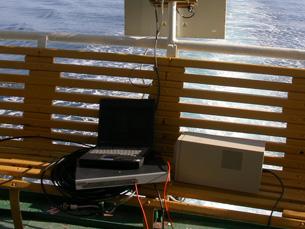 Atualmente, o acesso à Internet no mar é feito através de satélite Foto: kargig/Flickr