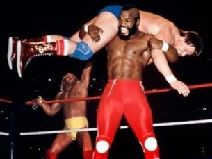 Passaram 30 anos desde que Hulk Hogan e Mr.T fizeram equipa na Wrestlemania I Foto: DR