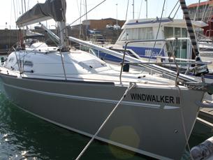 A empresa já possui um veleiro que utiliza nas actividades náuticas que oferece Foto: Diana Ferreira