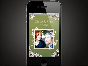 Existem vários tipos de convites para casamentos, mas a Yapp permite interatividade com os noivos Foto: DR