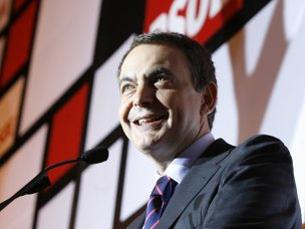 Zapatero renova mandato com 169 deputados eleitos. Foto: DR