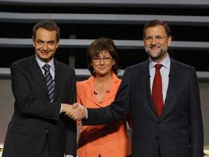 Zapatero e Rajoy vão a votos no Domingo. Foto: DR
