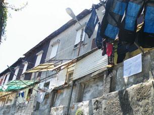 Casas degradadas no Porto estão a ser alvo de intervenção Foto: Arquivo JPN