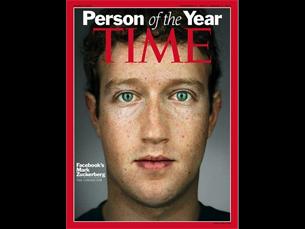 Marck Zuckerberg é a personalidade do ano Foto: Time