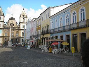 Centro histórico de Salvador é património da humanidade, reconhecido pela UNESCO, desde 1985 Foto: DR
