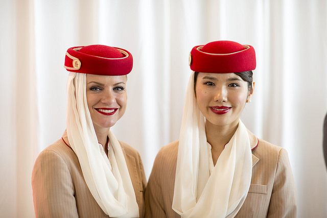 Hospedeiras Emirates