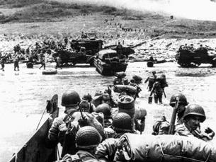 O dia D foi uma das maiores operações militares de todos os tempos e conduziu ao fim da II Guerra Mundial Foto: DR