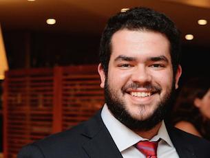 Daniel Freitas, estudante da Faculdade de Engenharia da Universidade do Porto, é o único candidato a sucessor de Rúben Alves, que completou n FAP dois mandatos Foto: DR