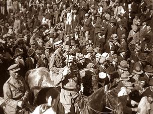 A revolução começou em Braga e rapidamente correu por todo o país Foto: DR