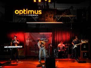 """Os """"Matilha"""" foram os vencedores do concurso do Optimus Live Act Foto: DR"""