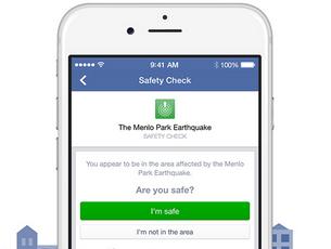 Em caso de desastre natural, uma nova funcionalidade do Facebook permite