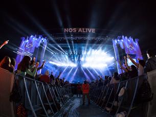 O NOS Alive volta ao Passeio Marítimo de Algés de 9 a 11 de julho, no próximo ano Foto: NOS Alive