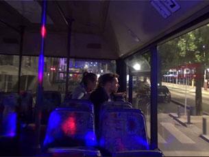 O Allaboard passa pelas principais zonas de animação noturna da cidade do Porto Foto: JPN