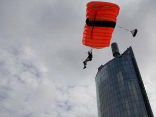 O B.A.S.E. Jump vai ser uma das principais atrações na Maia, este fim
