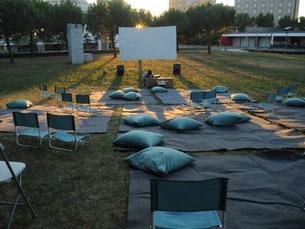 """O ciclo """"Cinema na Relva"""" quer conjugar a sétima arte e o ar livre, numa iniciativa que já vai na quarta edição Foto: DR"""