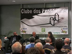 Daniel Oliveira e Ana Drago foram os convidados do Clube dos Pensadores, esta segunda