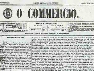 O Comércio do Porto foi fundado a 2 de Junho de 1854 e teve a sua última edição impressa a 30 de Julho de 2005 Foto: DR