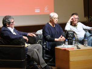 Os dois criadores falaram das melhorias e problemas que surgiram depois da revolução Foto: Simão Freitas