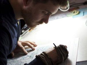 Daniel Henriques colabora com a DC Comics e já trabalhou para outra das grandes marcas norte