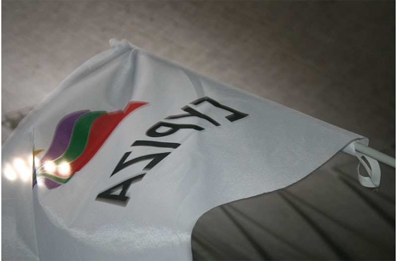 Bandeira Syriza