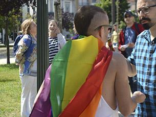 A comunidade LGBT juntou