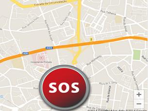 Gunalert é uma aplicação que alerta os utilizadores sobre assaltos na zona em que se encontra Foto: Carla Santos