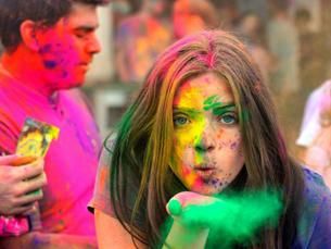 O festival Happy Holi, no Porto, foi adiado para dia 20 de julho Foto: DR