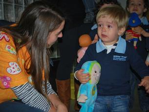 O projeto ajuda não só as crianças em internamento mas também os próprios voluntários, dando