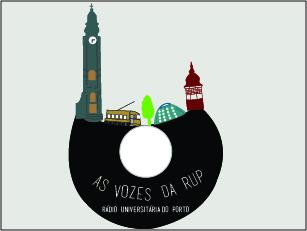 A Rádio Universitária do Porto funcionou de 1986 a 1988 Ilustração: Joana Inês Moreira