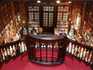 Um século depois, permanece, indiscutivelmente, como a livraria mais bonita do mundo, escreve a CNN Foto: Arquivo JPN