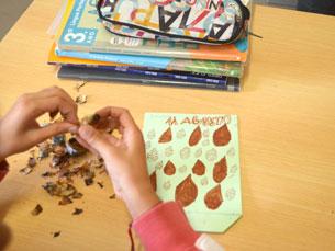 O JPN foi à Escola EB1 São João da Foz, no Porto, para recordar a forma como se celebra o dia de São Martinho em tão tenra idade Foto: Nídia Azevedo