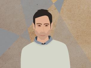 """Malik Bendjelloul recebeu um Óscar pelo seu documentário """"Serching for Sugar Man"""" Ilustração: Rita Salomé Esteves"""