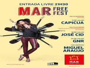 MAR Free Fest é o nome da iniciativa que procura dinamizar centro comercial de Matosinhos Foto:DR