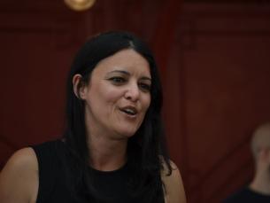 Marisa Matias apela à participação dos jovens nas eleições de dia 25 de maio Foto: Fabiana Queirós de Oliveira