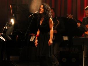 Marly Marques trouxe o jazz vocal ao Spring On! Foto: Simão Freitas