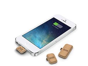 As baterias, para já pensadas apenas para iPhone, foram desenhadas em três tamanhos diferentes